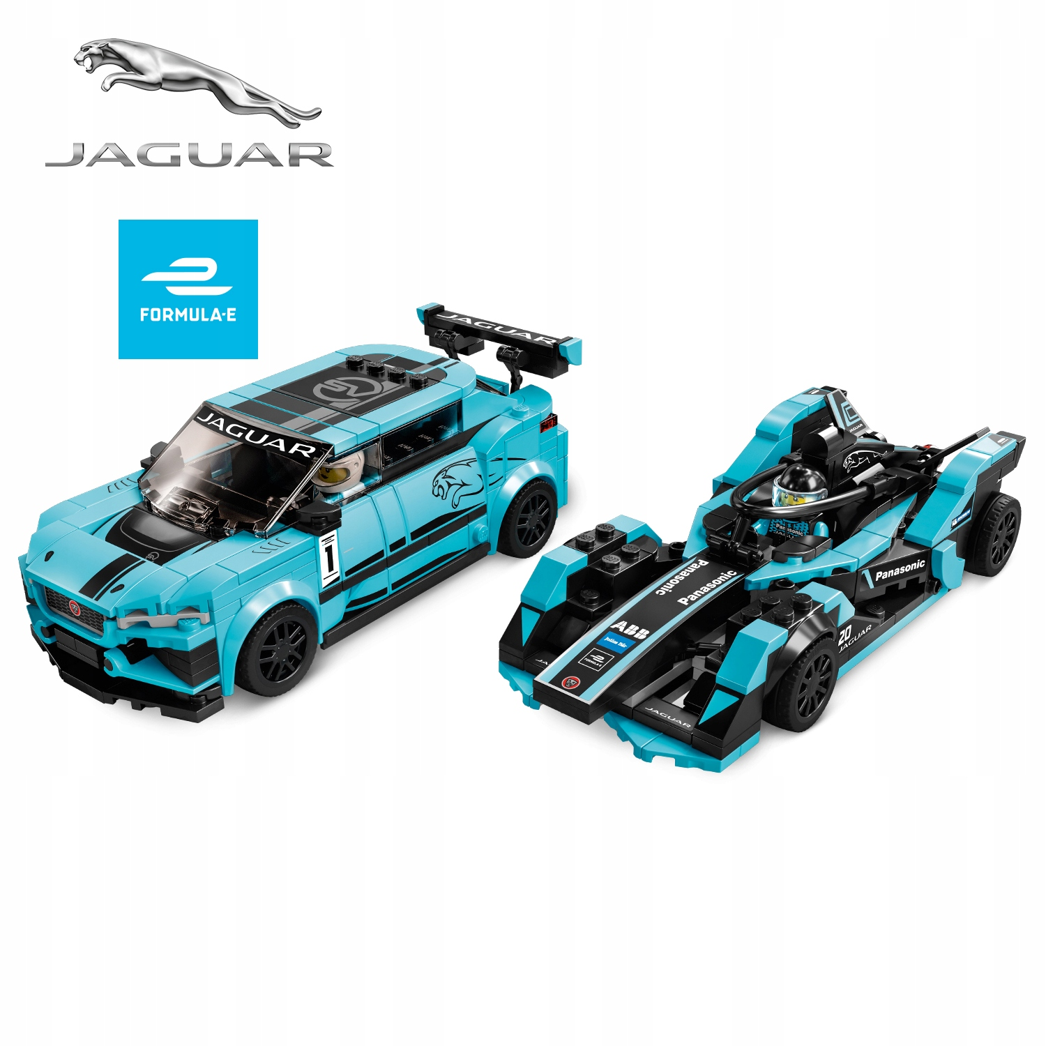 LEGO Jaguar Racing GEN2 car + I-PACE eTROPHY 76898