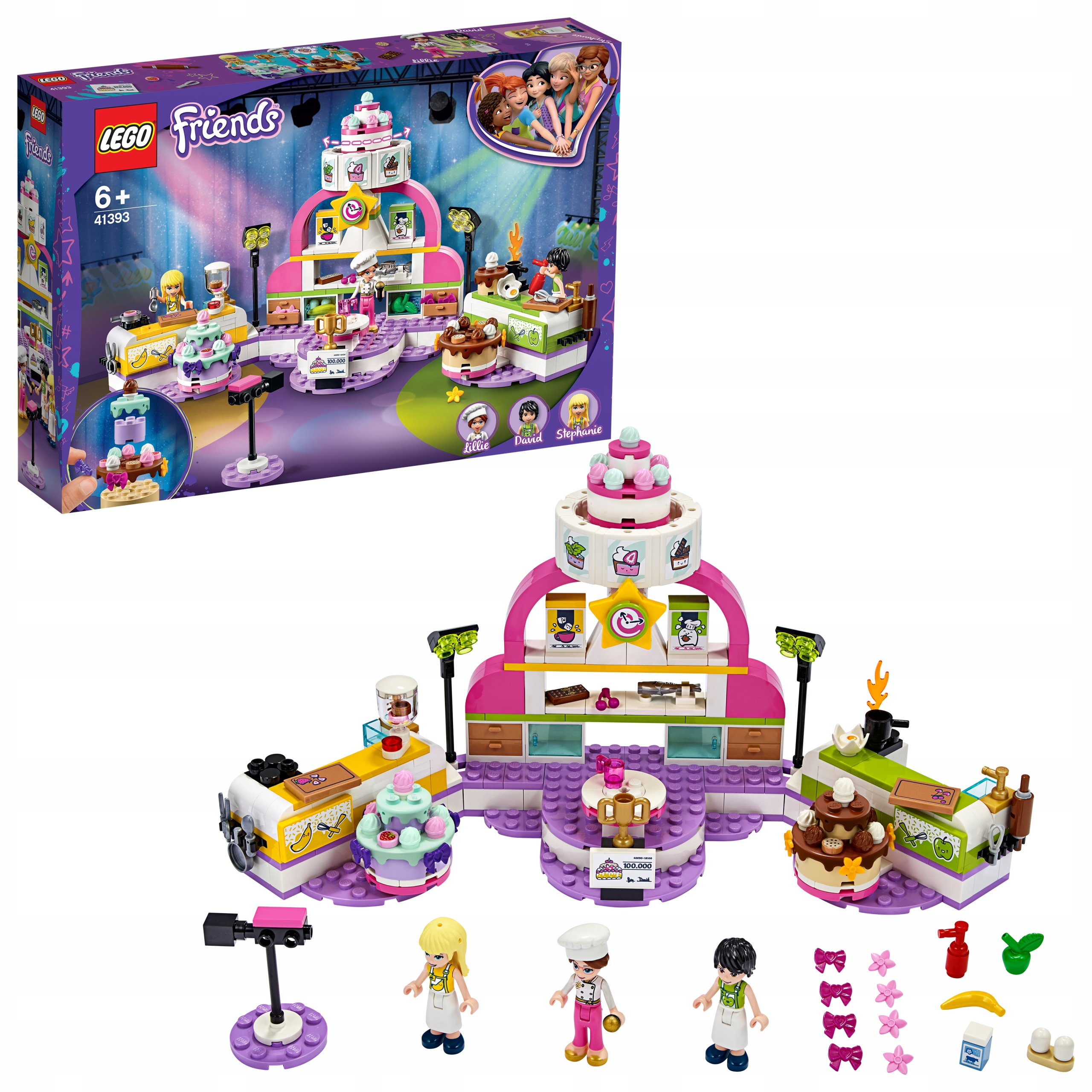 Lego Friends Konkurs pieczenia 41393