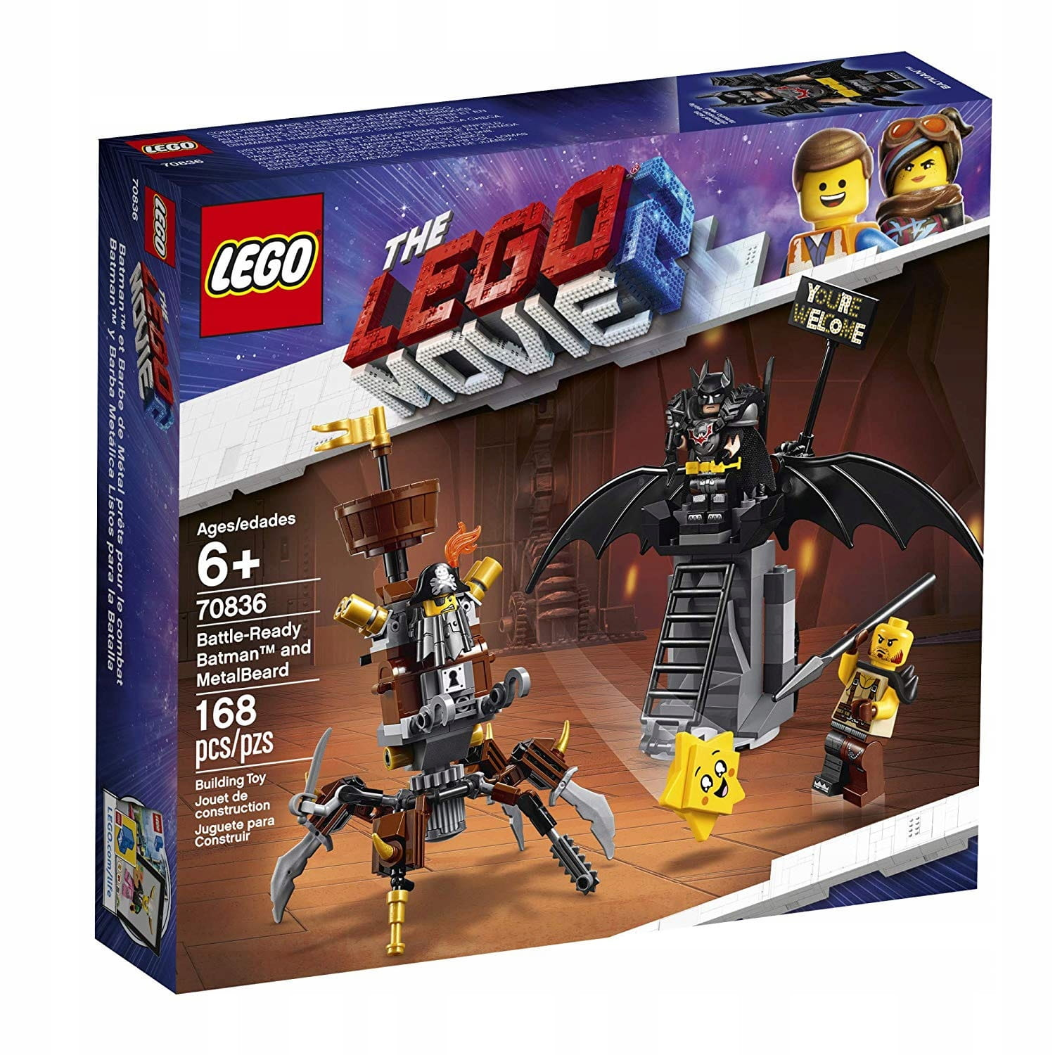KLOCKI LEGO 70836 MOVIE Batman i Stalowobrody